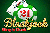 Игровой 777 автомат Single Deck Blackjack Professional Series
